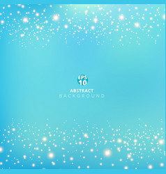 abstract blue blurred background with beauty vector image