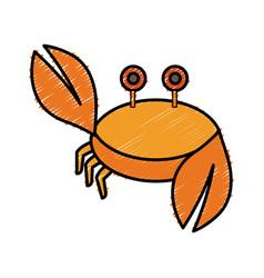 Crab icon image vector