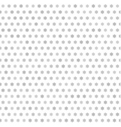 Gray flower pattern seamless vector