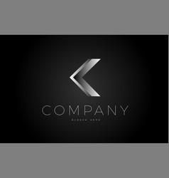 j black white silver letter logo design icon vector image