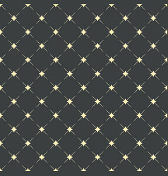 seamless pattern fashion geometric background vector image