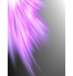 A pink abstract wave background EPS 10 vector image