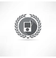 mp4 icon vector image