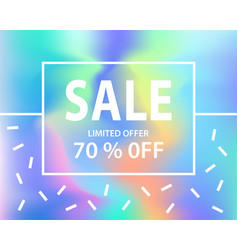 sale banner template for shopping vector image vector image