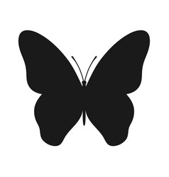 Butterfly symbol vector