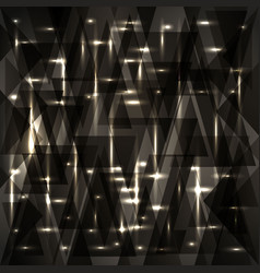 Charcoal sparkling pattern of shards for vector