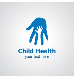 child health vector image