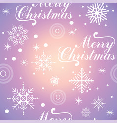 christmas seamless pattern 4 vector image