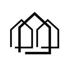 home logo icon vector image