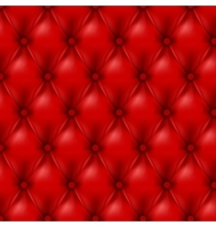 Leather background with buttons vector