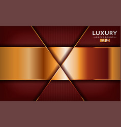 Luxurious premium red abstract background vector
