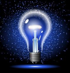Neon lighbulb vector