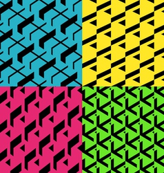Patterns set vector