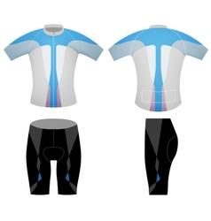 T shirt cyclist vector
