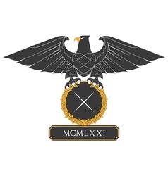 Heraldic eagle 22 vector image