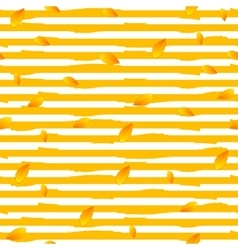Abstract autumn striped seamless pattern vector image
