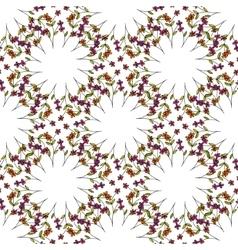Beautiful orient style seamless pattern vector image