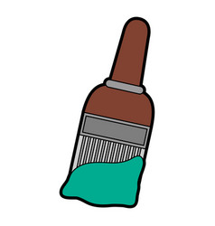 Brush paint or painting icon image vector