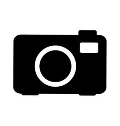 Camera pictogram icon image vector