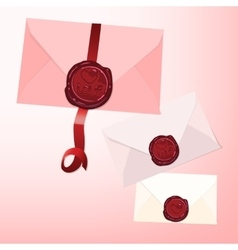 Envelope seal vector image