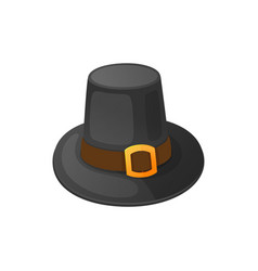 holiday clothing thanksgiving hat icon vector image