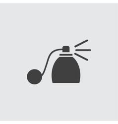 Perfume bottle icon vector
