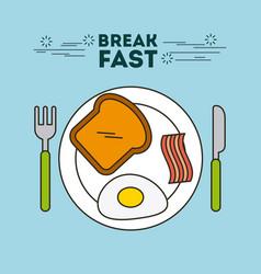 Protein food vector