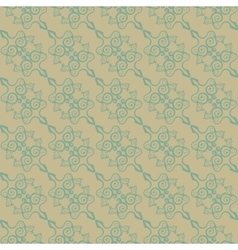 Vintage seamless pattern in the Chinese style vector image