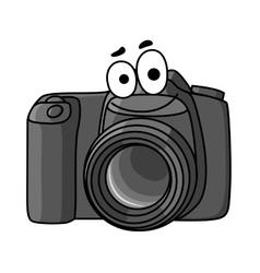 Cartoon digital camera vector image vector image