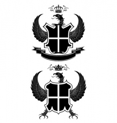 coat of arms vector image vector image