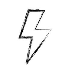 figure energy hazard sign to electrical warning vector image vector image
