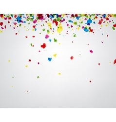 Background with painted drops vector image
