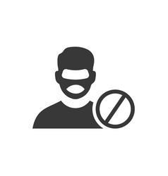 Anti thief icon vector