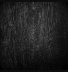 Black wood vector