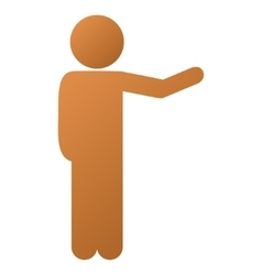 Child Show Gradient Icon vector