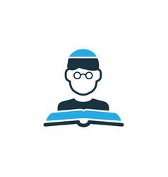 Imam colorful icon symbol premium quality vector