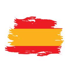 Isolated spanish flag vector