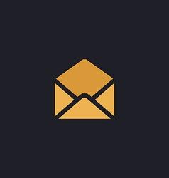 mail computer symbol vector image