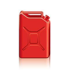 object gas canister vector image