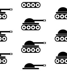 Panzer symbol seamless pattern vector image