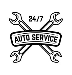 auto service service station car repair design vector image vector image