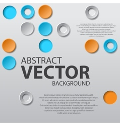 Abstract background with text vector