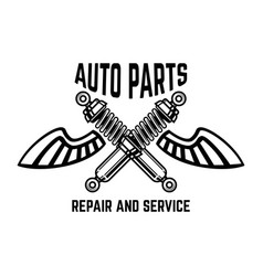 Auto service service station car repair design vector