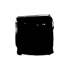 black rough edge square box vector image