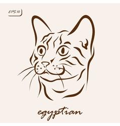 Egyptian vector image