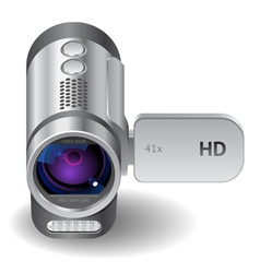 Icon for camcorder vector