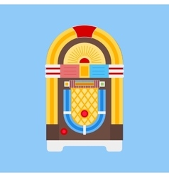 Jukebox Flat Icon vector image