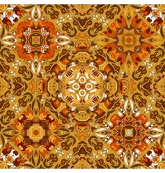 Luxury oriental tile seamless pattern vector