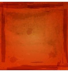 Ogange grungy background vector