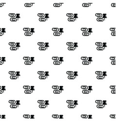paper clip pattern seamless vector image